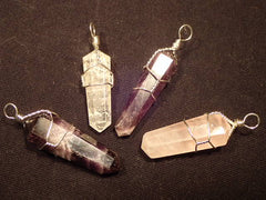 Pendants Wire Wrap Gemstone