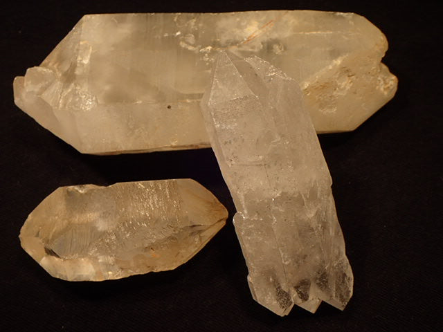 Quartz Crystal - Double Terminated