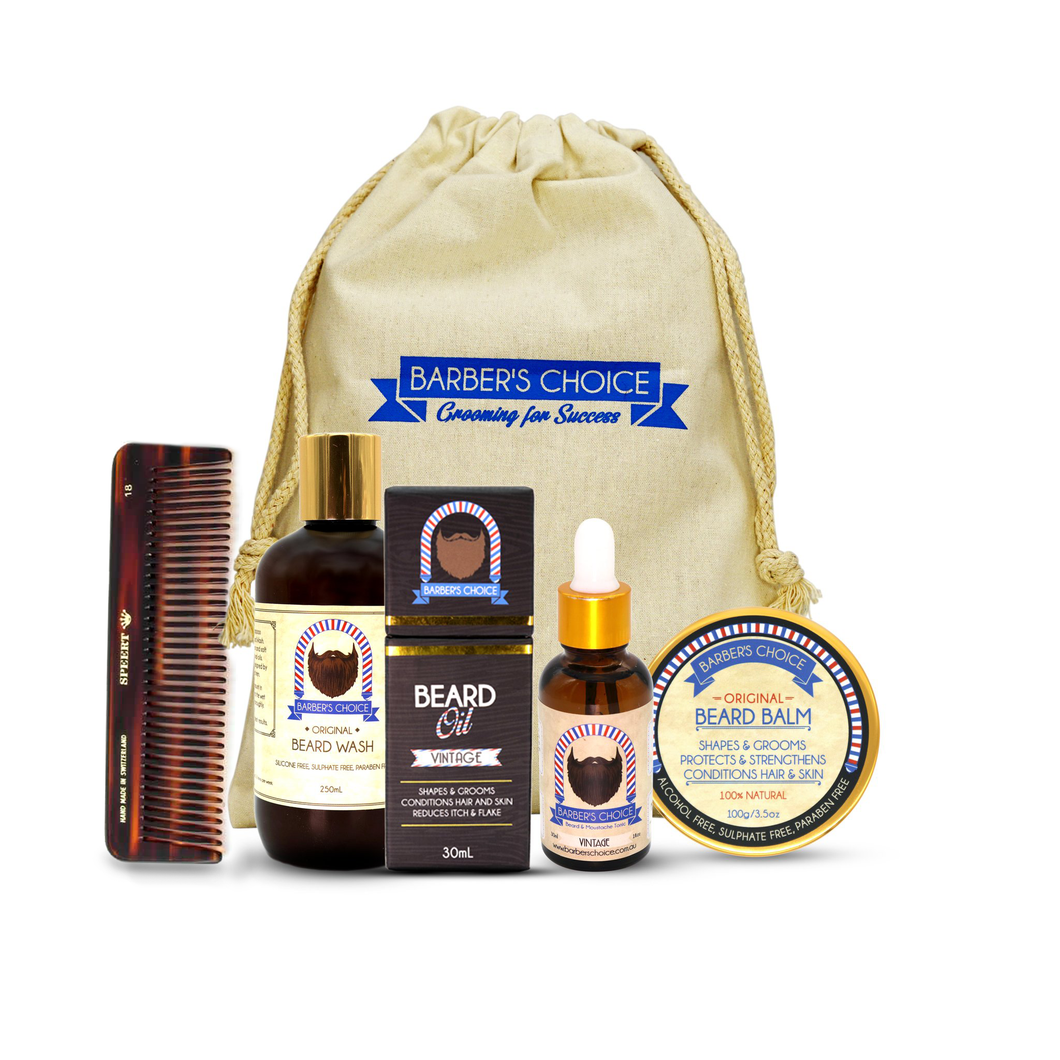 The Beard Essentials Kit