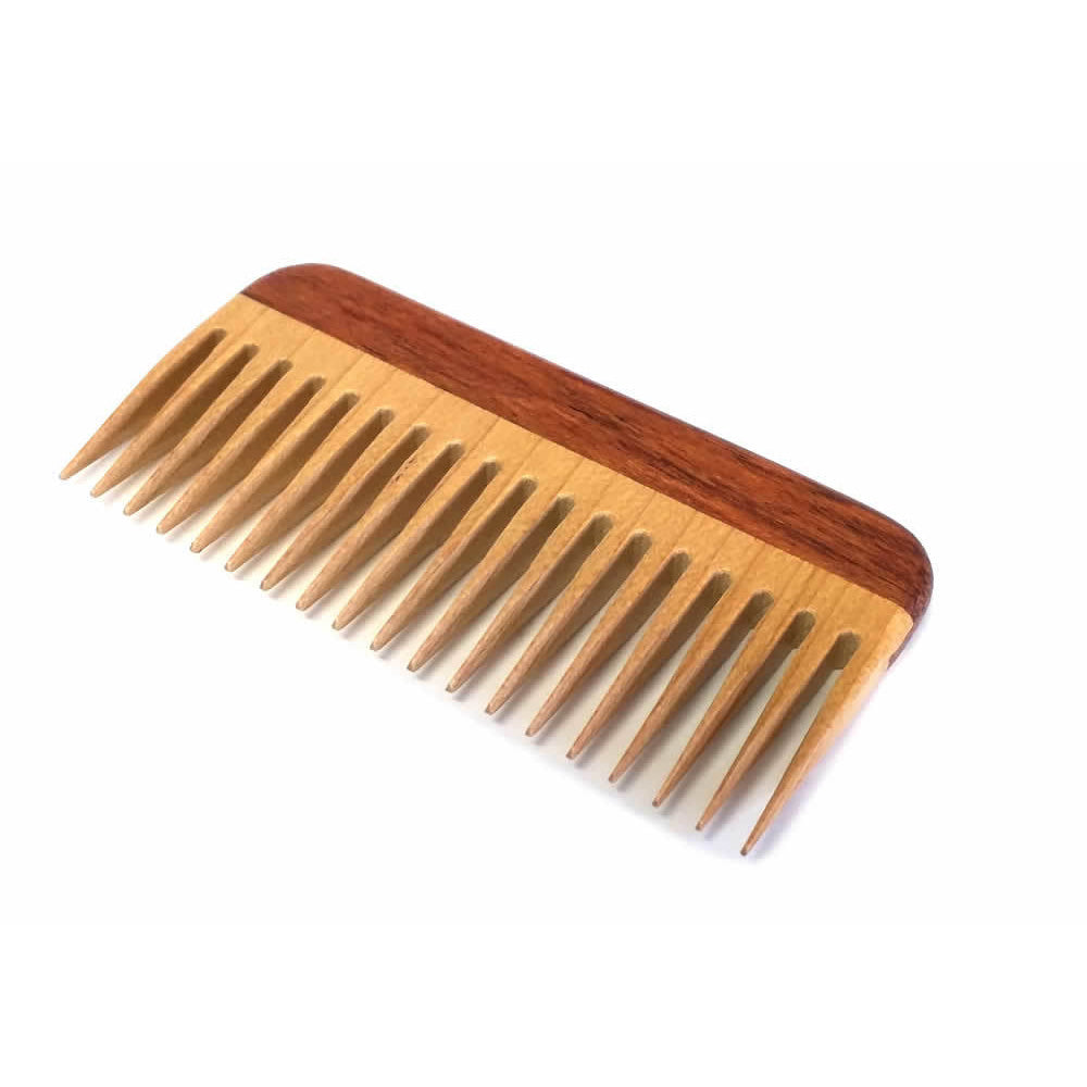 Handmade Wooden Travel Comb