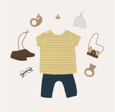 Baby and Toddler Capsule Wardrobe Checklist