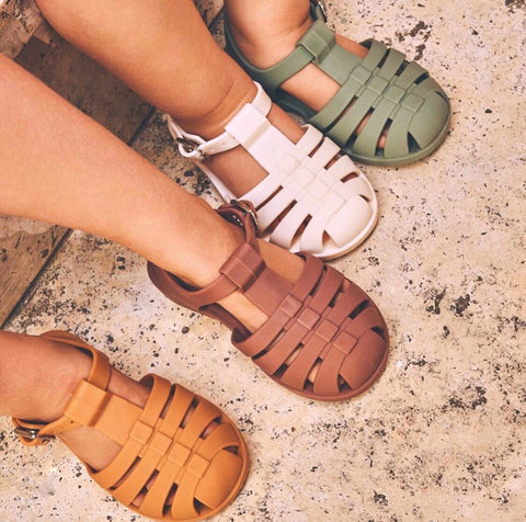 Kids sandals of the summer