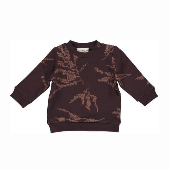 Burgundry Berry Branches Sweatshirt