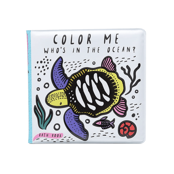 Color Me: Who's in the Ocean? - Wee Gallery -when we wear young