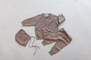 Hazelnut Baby Knit Cardigan