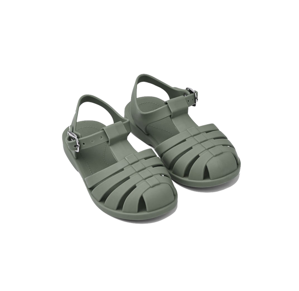 Faune Green Bre Sandals