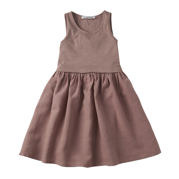 Mingo, baby Antler Rose Dress - when we wear young