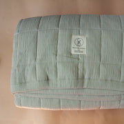 Large Big Kid Sea Salt Quilted Blanket