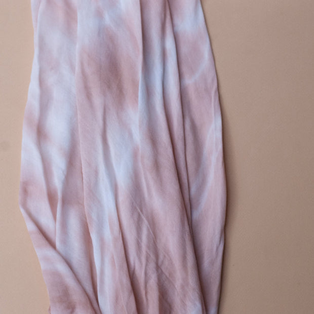 Toffee Bamboo Tie Dye Cotton Swaddle