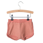 Little Hedonist, baby Desert Sand Terrycloth Shorts - when we wear young