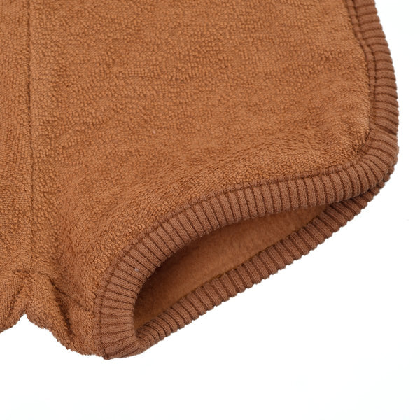 Little Hedonist, baby Mocha Terrycloth Shorts -LAST SIZE! 18-24m - when we wear young