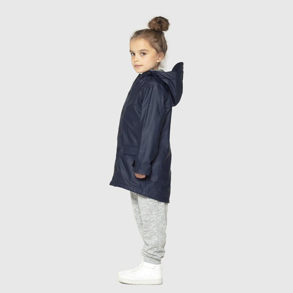 Navy Waterproof Jacket - Go Soaky -when we wear young