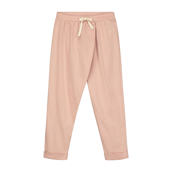 Blush Wrap Pants - Gray Label -when we wear young