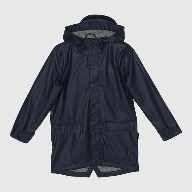 Go Soaky, baby Navy Waterproof Jacket - when we wear young