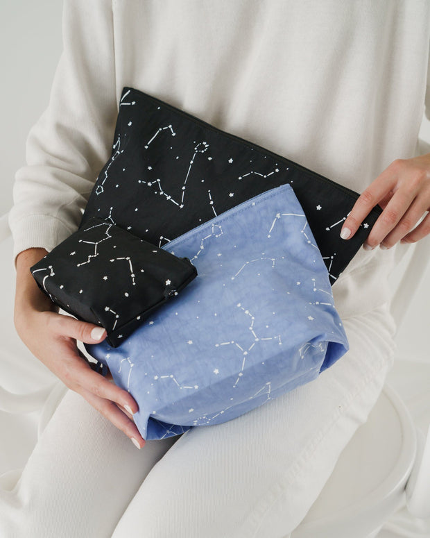 baggu, baby Constellation Go Pouch Set - when we wear young