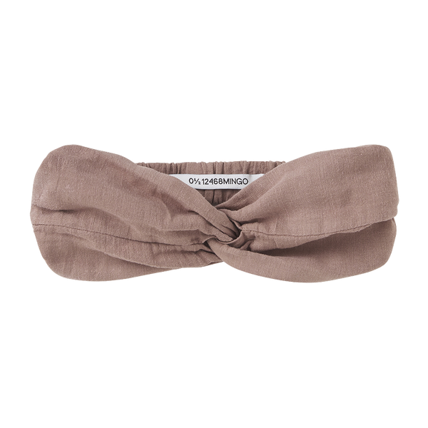 Mingo, baby Antler Rose Twist Headband - when we wear young