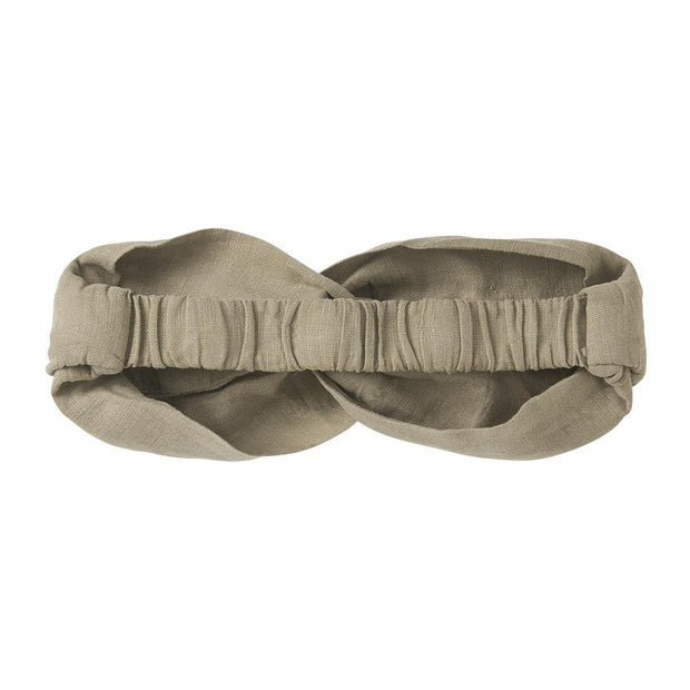 Mingo, baby Green Oak Twist Headband - when we wear young