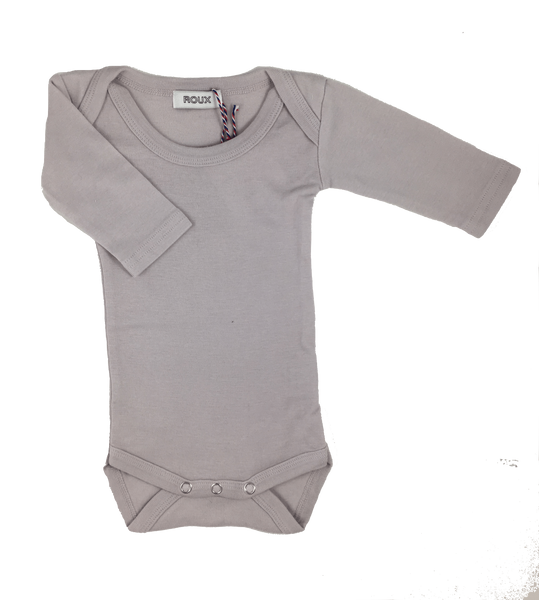 Roux, baby Lavender L/S Onesie - when we wear young