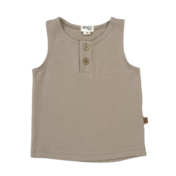 KidWild Organics, baby Organic Dune Tank Top - when we wear young