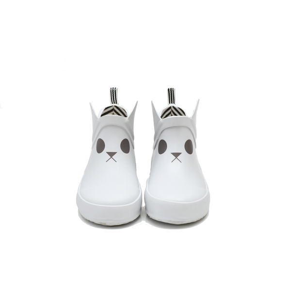 White Rabbit Short Rain Boot - boxbo -when we wear young