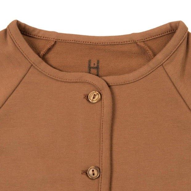 Little Hedonist, baby Argan Oil Cardigan - when we wear young