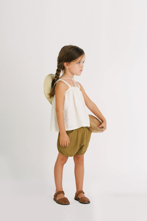 Go Gently Nation, baby Chambray Meadow Top - when we wear young