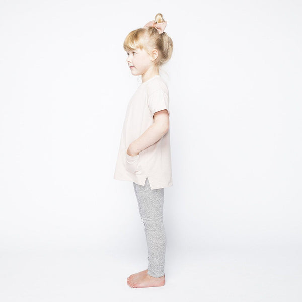Mingo, baby Dots Knee Patch Leggings - when we wear young
