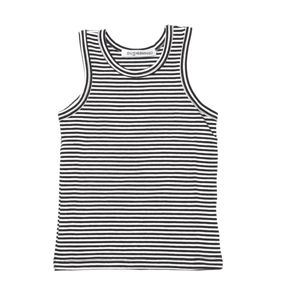 Stripe Tank Top - Mingo -when we wear young