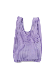baggu, baby Lilac Net Baggu with Pouch - when we wear young