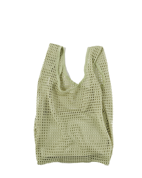 Matcha Net Baggu with Pouch