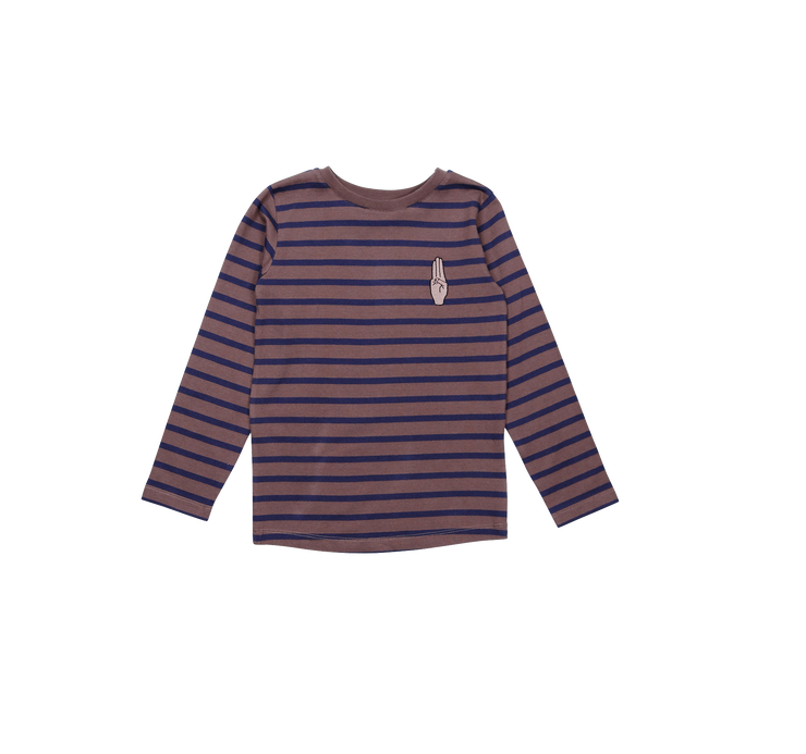 one we like, baby Scouts Honour Organic Stripe Longsleeve - when we wear young