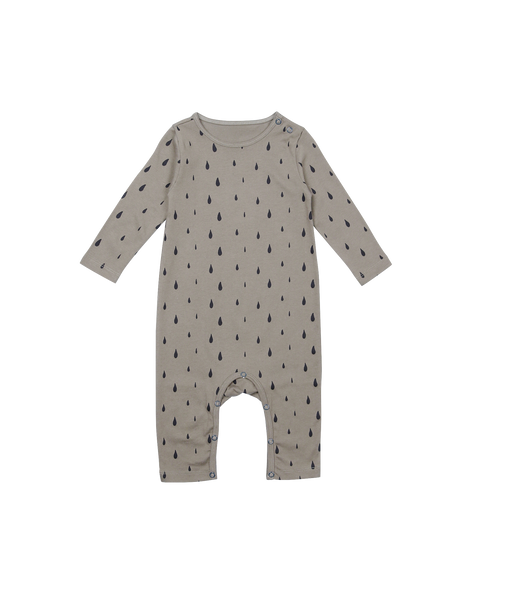 Olive Organic Drops Baby Romper