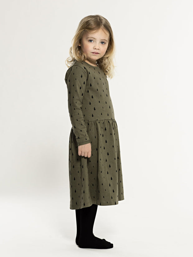 one we like, baby Olive Organic Drops Dress - when we wear young