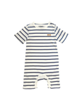 one we like, baby Organic Striped Romper with Sunglasses - when we wear young