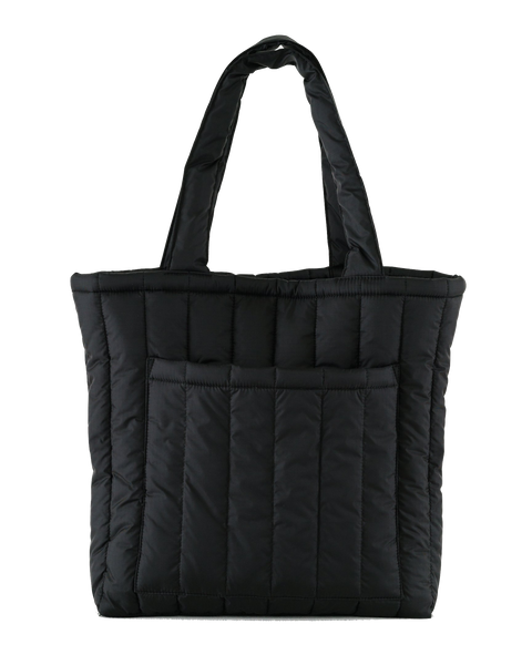 baggu, baby Black Puffy Tote - when we wear young
