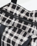 baggu, baby Plaid Rip Stop Tote - when we wear young
