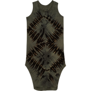 Be Mi Los Angeles, baby Lexi Tank Dress Tie Die Dark - when we wear young