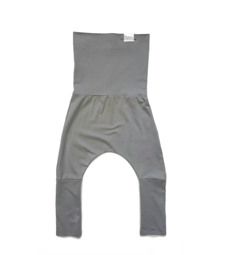 Grey Grow Harem Pants