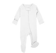 White Organic Zipper Sleeper