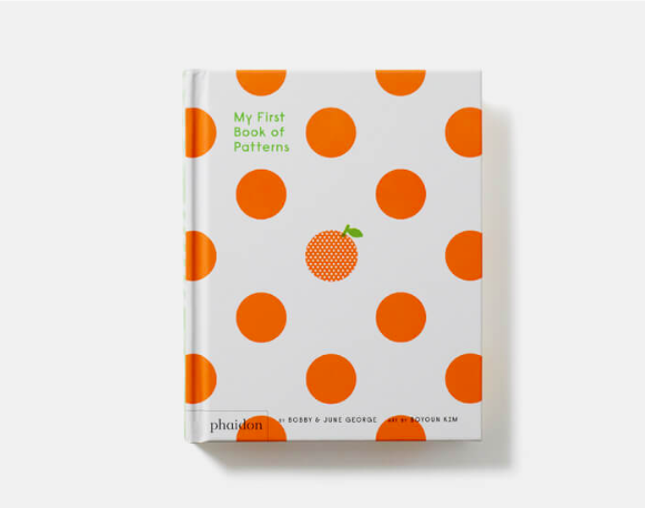 My First Book of Patterns- (Board Book)