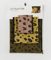 baggu, baby Leopard Go Pouch Set - when we wear young