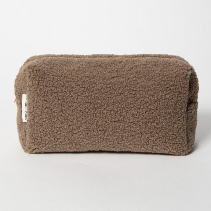 Chunky Brown Teddy Pouch