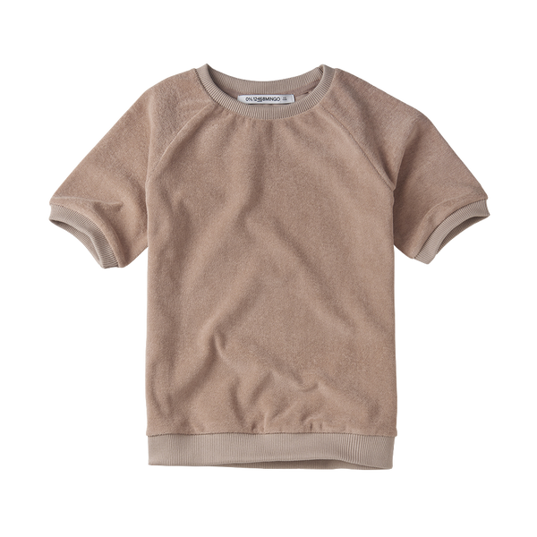 Mingo, baby Fawn Blush Terry Tee - when we wear young