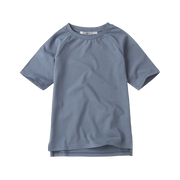 Mingo, baby Stone Blue Tee - when we wear young