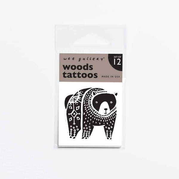 Woods Tattoos - Wee Gallery -when we wear young