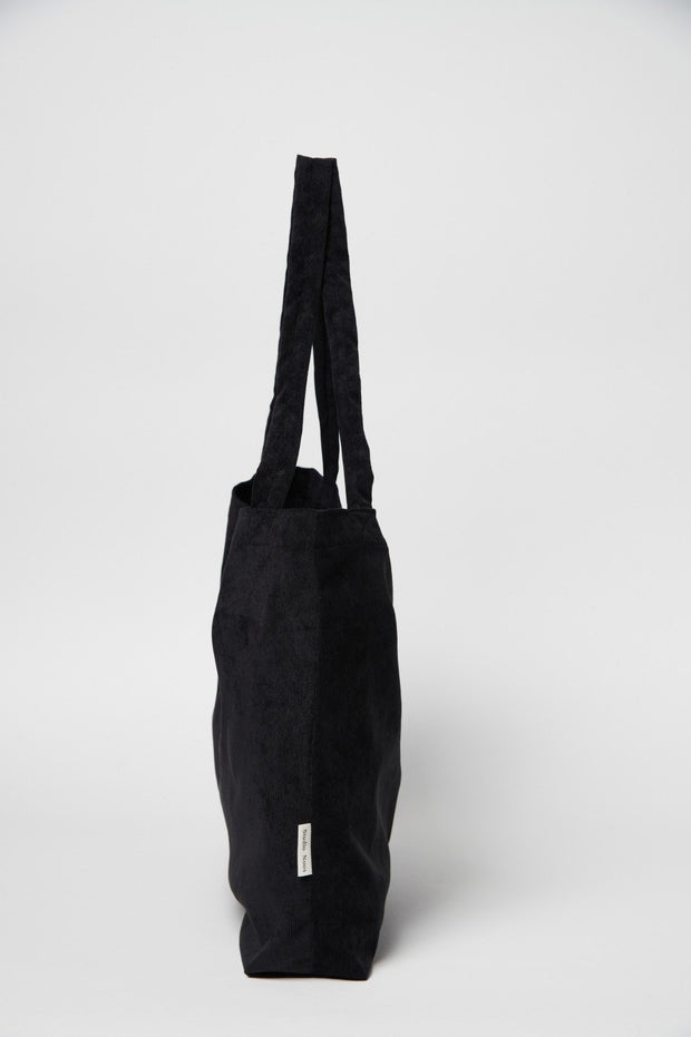 Black Rib Mom Bag