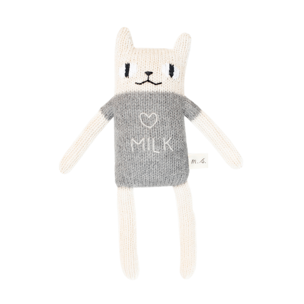 Grey Loves Milk Cat - Main Sauvage -when we wear young