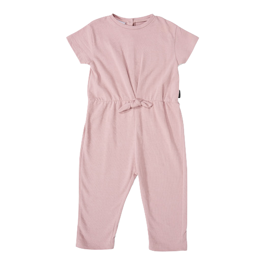 daily brat, baby Dusty Pink Jumpsuit - when we wear young