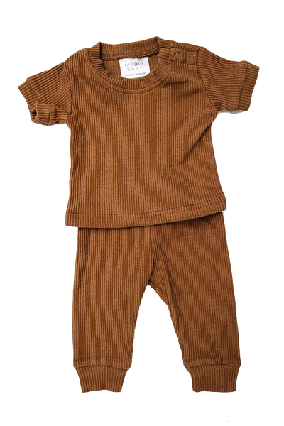 mebie baby, baby Honey Two-Piece Pajama-LAST SIZE! 12-18m - when we wear young