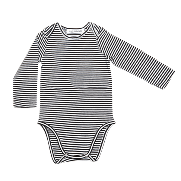 Stripe Bodysuit - when we wear young